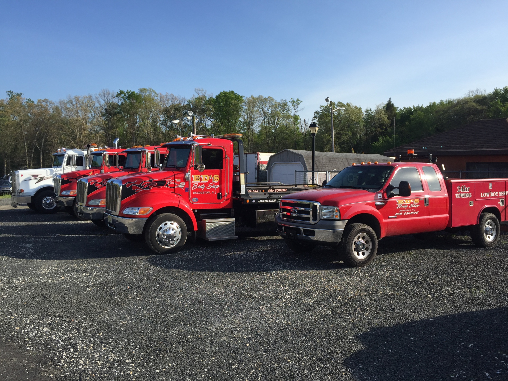 24 Towing and Recovery Flatbeds